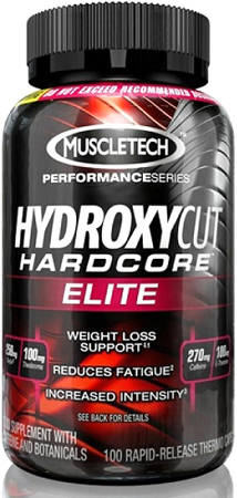 MuscleTech. Hydroxycut Hardcore Elite, 100 капс.