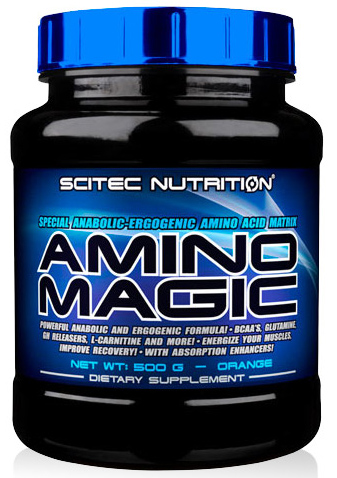 Scitec Nutrition. Amino Magic, 500 гр.