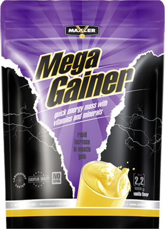 Maxler. Mega Gainer,  bag 1000гр.