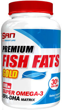 San. Premium Fish Fats Gold, 120 капс.