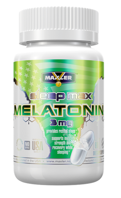 Maxler. Melatonin Fast Sleep, 60 таб.