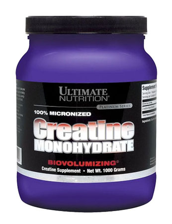 Ultimate. 100% Micronized Creatine Monohydrate, 1000гр.