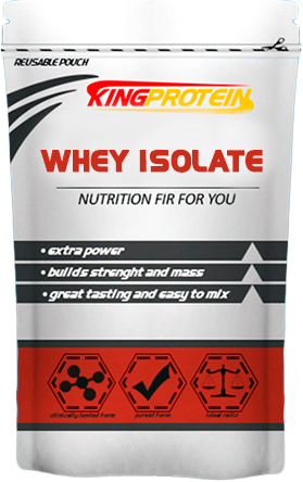 KING PROTEIN.  Whey Isolate, 1000гр.