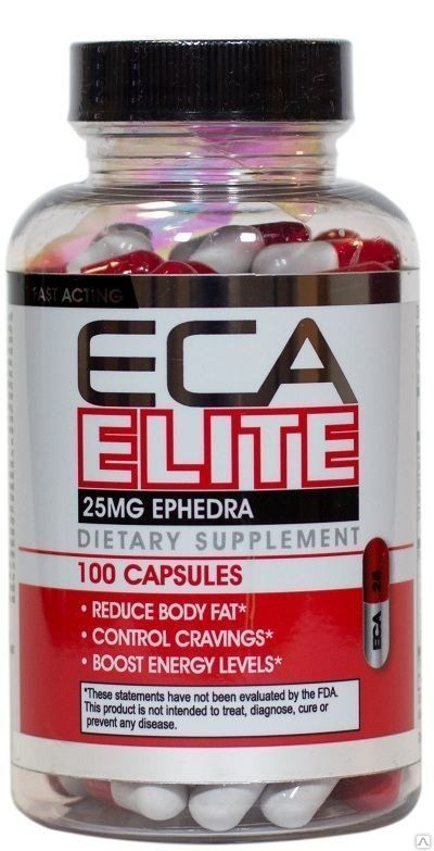 Cloma Pharma. ECA Elite, 100капс.