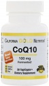 California Gold Nutrition, CoQ10, 30 капс.