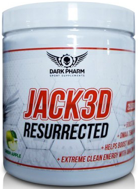 Dark pharm. Jack3d Resurrected, 25 порц.